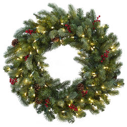 Rustic Wreaths And Garlands by Nearly Natural, Inc.