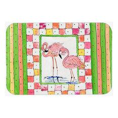 """Flamingo Kitchen/Bath Mat, 24""""x36"""""""