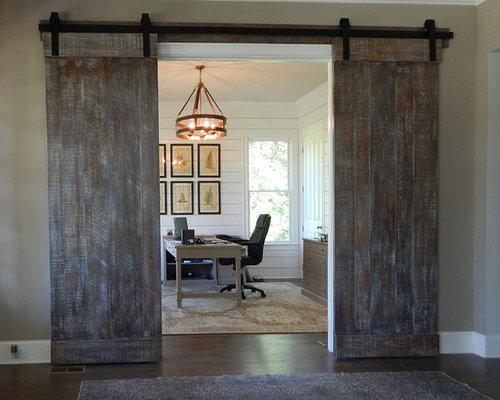 Double Sliding Barn Door Installation   Milton, GA   2016   Interior Doors