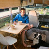 Adventure Seekers Hit the Road in a Cozy School Bus Home