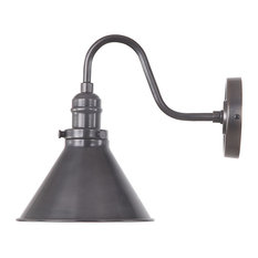 Provence 1-Bulb Wall Lamp, Black