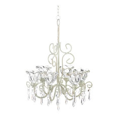 Ivory Candle Chandelier