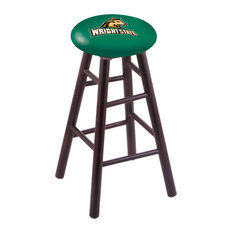 Maple Extra Tall Bar Stool Dark Cherry Finish With Wright State Seat 36-inch