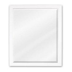 Elements   Elements MIR066 Adler Collection Rectangular 24 X 28 Inch  Bathroom Vanity Mirror   Bathroom