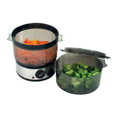 Stainless Steel Food Steamer, 400W by Chef Buddy