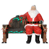 Polyresin Santa Sitting