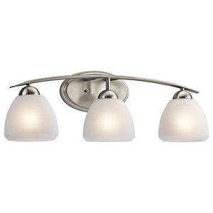 "Kichler 45119NI Calleigh 26""  3 Light Bathroom Lighting Fixture"