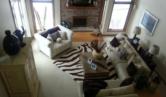Living Room Home Staging project