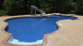 Paradise Pools and Spas, Livingston Pool, Castlewoods Subdivision Brandon MS