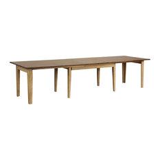 "Sunset Trading Brook 134"" Rectangular Dining Table DLU-BR134-PW"