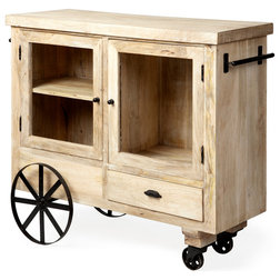 Industrial Kitchen Islands And Kitchen Carts by HedgeApple