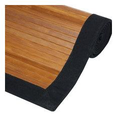 Bamboo Rug, Burnt Bamboo, 2'x3'