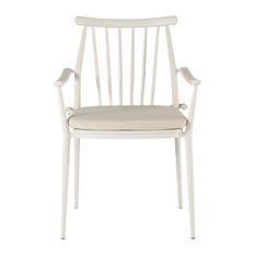 A.R.T. Home Furnishings Epicenters Austin Outdoor Darrow Armchairs Set, White