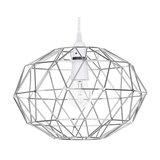 Geometric Metal Cage Ceiling Light Shade