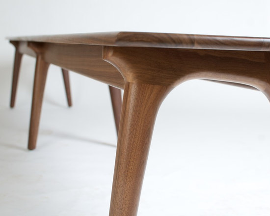 Maloof Inspired Dining Table - Dining Benches