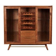mid century bar cabinet 50 Most Popular Midcentury Modern Wine and Bar Cabinets for 2018  mid century bar cabinet