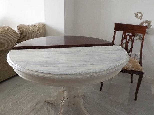 Hazlo t mismo qu tale 20 a os a una mesa cl sica y sus for Como restaurar una mesa de madera