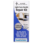 HIMG® Surface Repair - Clear LCA™ Surface Repair Kit - LCA™ (light cure acrylic) Surface Repair Kits cure in minutes. (3-10 minutes depending on size of defect) An effective repair material for nicks, chips and scratches in granite, marble, tile, porcelain, corian, travertine and natural stone surfaces.