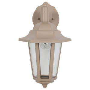 Azalea Outdoor Wall Light, Taupe