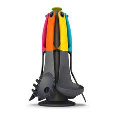 - Набор кухонных инструментов Elevate™ Carousel на подставке разноцветный - Поварешки