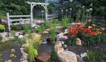 Pool fill in-- New pondless waterfeature