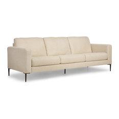 Mod Carmen Beige Sofa 3 Seater Sofas Houzz Exclusive
