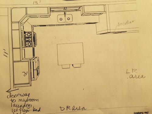 small l shape 11x 13 layout. Black Bedroom Furniture Sets. Home Design Ideas