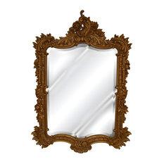 Ornate English Mirror, Antique Gold
