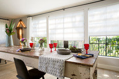 Foyer Window Quotes : Window treatments for large windows w o obstructing views
