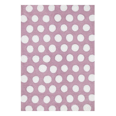 """Purple and White High-Low Pile Lola Shag Area Rug by Loloi, 7'3""""x9'3"""""""