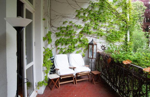 Fein und BoHo – ein Balkon wird zur Oase des inneren Friedens
