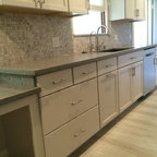 Old Hollywood Contemporary Kitchen Miami By Paul