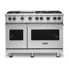 "Viking Range Corporation - Viking 48"" Wide Natural Gas Range, Stainless Steel - Gas Ranges and Electric Ranges"