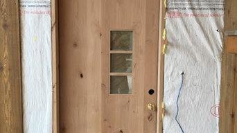 Unfinished Doors - Full Plank Knotty Alder