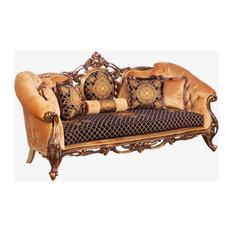Carved Wood Trim Sofas Houzz