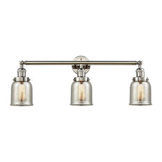 "Innovations 3-LT Small Bell 30"" Bathroom Fixture - Polished Nickel"
