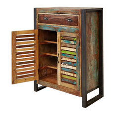 Urban Chic Shoe Cupboard With Drawer