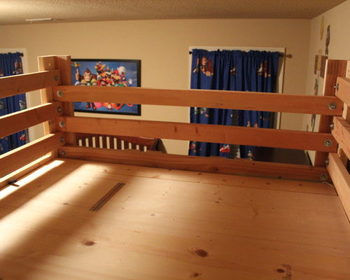 The Bed Fort Built From Queen Loft Bed Plans