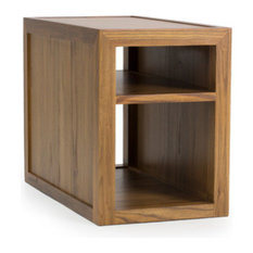 """Bergen 16"""" End Table, Finish: Fawn"""