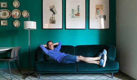 Houzz TV: Diseño español y estilo retro en un piso en Barcelona