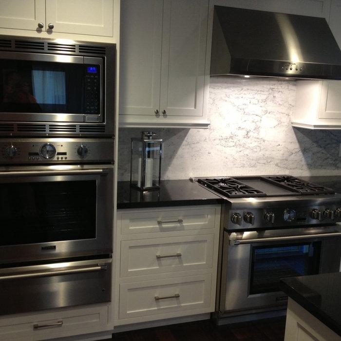 White Shaker Custom Kitchen