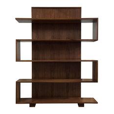 CFC Furniture Berkeley Bookcase Walnut