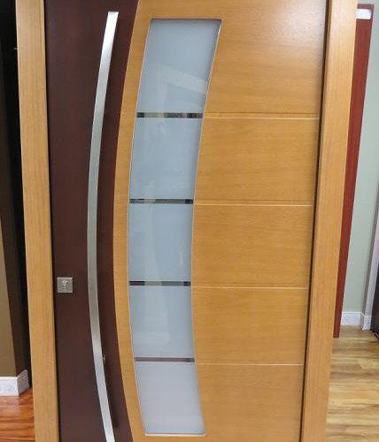 Presidents Day Sale BLOWOUT !! Modern Meranti Wood Exterior Doors ...