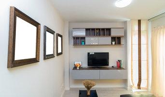 Media Unit & Built in Storage