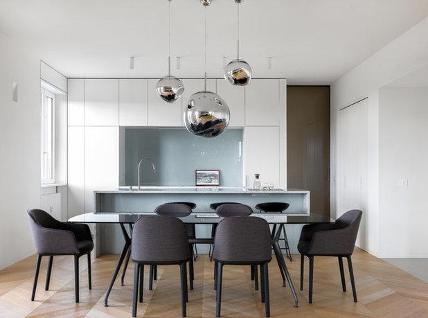 Moderno Sala da Pranzo by Tommaso Giunchi