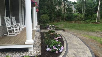 Front Walk and Entry Planting