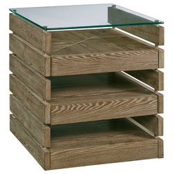 Farmhouse Side Tables And End Tables by Progressive Furniture