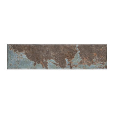 """3""""x11.75"""" Comfort Porcelain Floor and Wall Tile, Cold, Set of 38"""