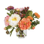 Peony Silk Arrangement, Assorted
