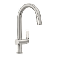 Grohe 30 378 Defined 1.75 GPM 1 Hole Pull Down Bar Faucet - SuperSteel